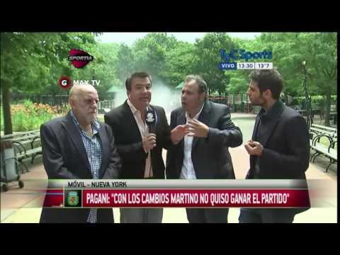 (HD) Especial Estudio Fútbol Post Derrota de Argentina Lunes 27/06/2016
