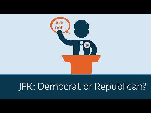 JFK: Democrat or Republican?