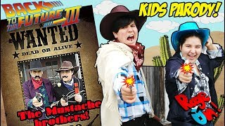 Back to the future 3 Home made movies KIDS PARODY OLD WEST 4K tribute In real life