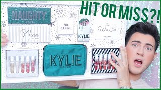 KYLIE COSMETICS HOLIDAY COLLECTION! BRUTALLY HONEST REVIEW & DEMO!