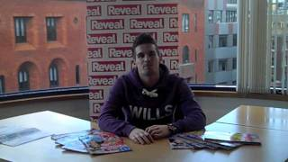 Gaz Beadle from Geordie Shore Reveals all!