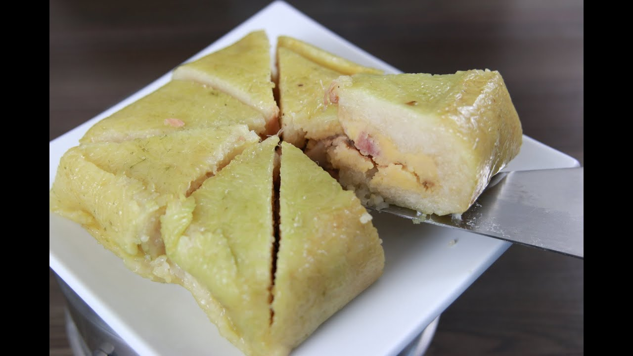 How To Make Vietnamese Sticky Rice Cake