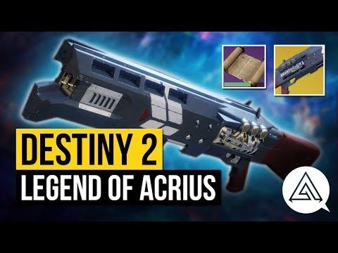 DESTINY 2 | How to Get the Legend of Acrius Exotic Shotgun