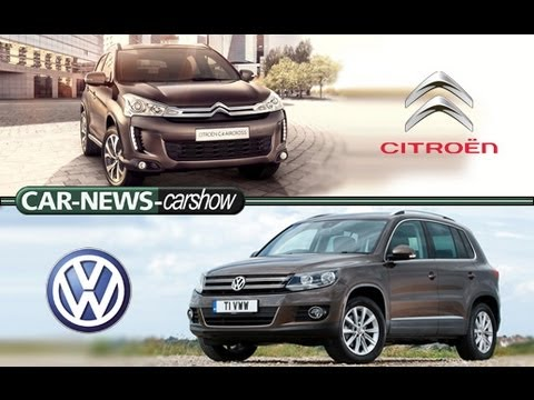 Carshow Lifestyle SUVs (Citroen C4 Aircross 2013 | VW Tiguan 2012) - HD - English