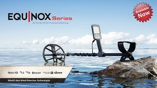 Equinox Powerful Gold Detector for All Terrains - New 2018