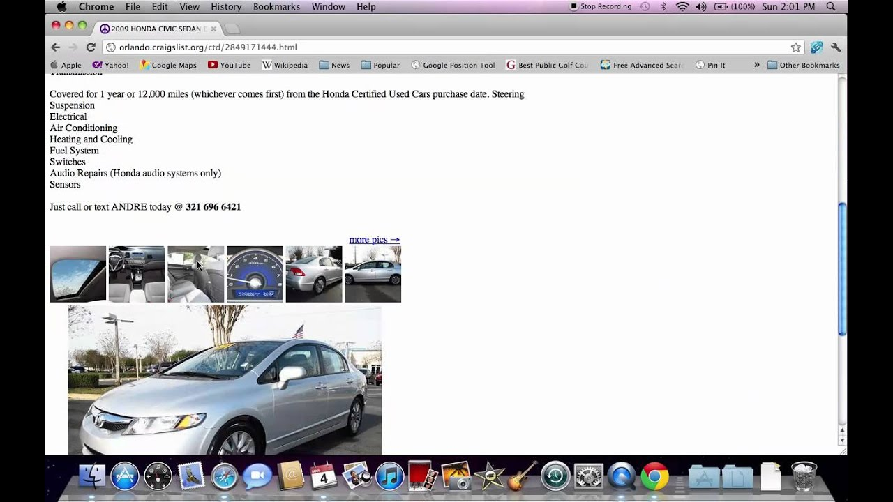 craigslist orlando  cars  sale  owner fl search tips youtube