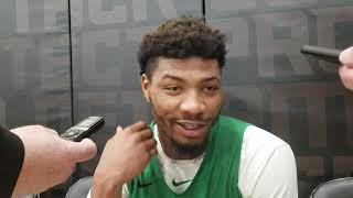 Marcus Smart on Joel Embiid shove: I'm going to protect myself