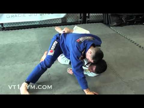 Critical BJJ Technique - Half Guard Sweep with Kimura Shoulder Lock Submission Image 1