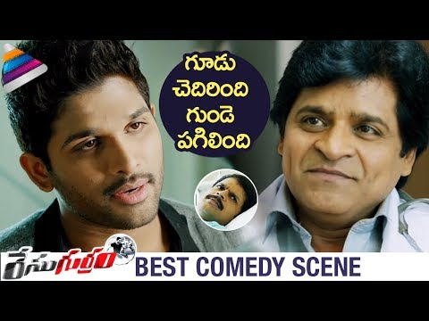 Allu Arjun & Ali Best Comedy | Race Gurram Movie Best Comedy Scenes | Shruti Haasan | Shaam | Thaman