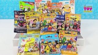 Lego Mega Construx Minifigure Palooza Blind Bag Toy Opening Review | PSToyReviews