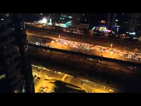 Terrible accident on sheikh ZAYED road, Dubai....now