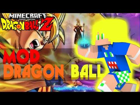 Minecraft Pe 0.13.1 • Mod Dragon Ball Z !!! • Mod Épico !!