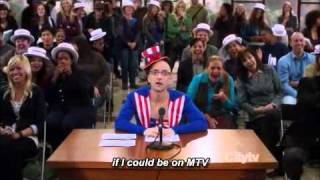 Joel McHale - Jeff Winger's Audition for The Real World