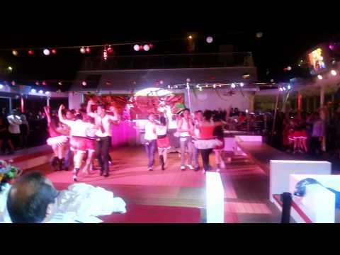 Resorts World Bimini Superfast F&B Department Christmas Party performance