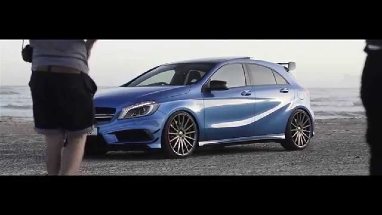 Blue A45 Amg Mercedes Benz A45 Amg | Blue