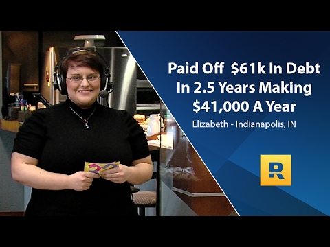 Paid Off $61k In Debt In 2.5 Years Making $41k