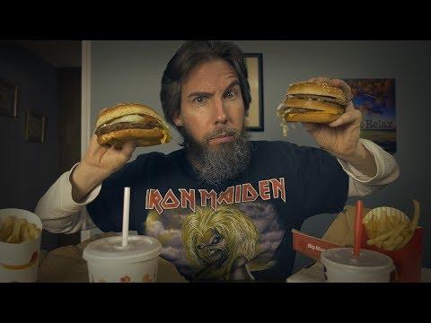 ASMR Showdown: Big Mac vs Whopper