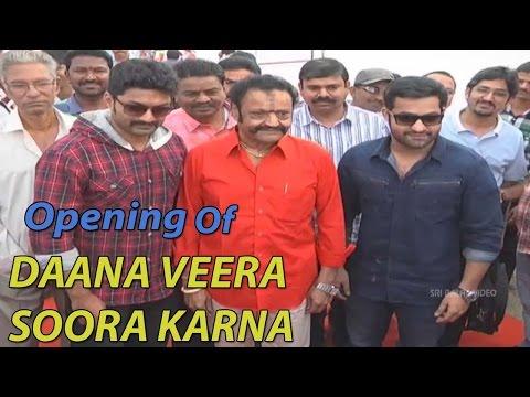 Daana Veera Soora Karna Movie Opening || Jr Ntr, Kalyan Ram video