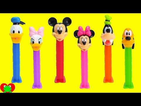 Mickey Mouse Club House Pez Dispensers with Minnie Mouse and More