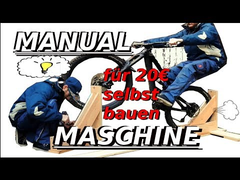 BIKE HACK | How to MANUAL MASCHINE bauen | Tutorial | German / Deutsch