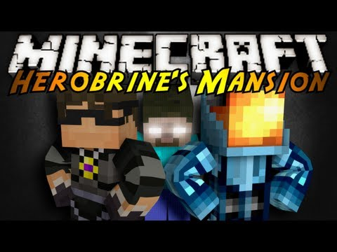 Minecraft: Herobrine's Mansion Finale!