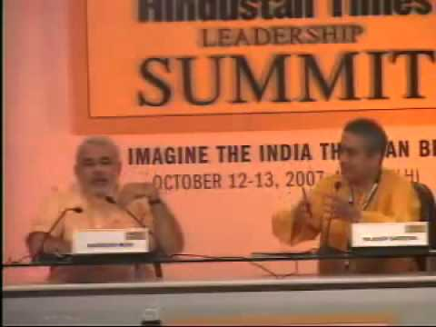 Narendra Modi fights back - Hindustan Times (full)