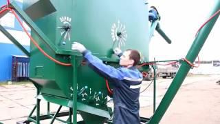 Очистка зерна машиной   ПСМ от производителя  РМЗ Кузембетьево