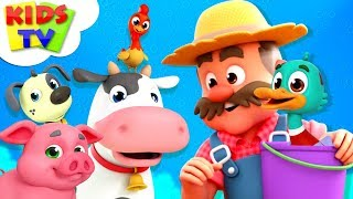 Old MacDonald Had A Farm | The Supremes Cartoons | Nursery Rhymes For Children - Kids TV