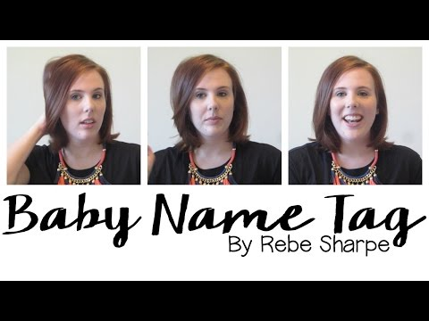 Baby Name Tag By Rebe Kate Lately