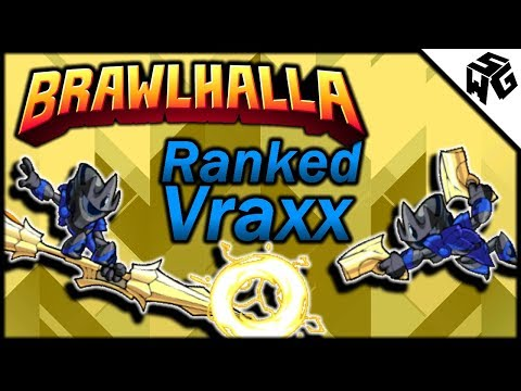 Road to Diamond Ranked Vraxx 1v1's - Brawlhalla Gameplay :: Goldforged