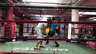 Mendez boxing gym training 🏆