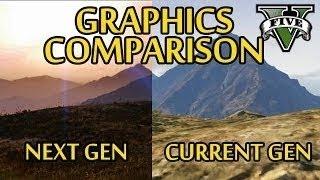 GTA 5 сравнение графики PS3 vs PS4 = PC будет еще лучше.