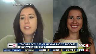 Firestorm: Dayanna Volitich Florida middle school teacher accused of having white nationalist podcas