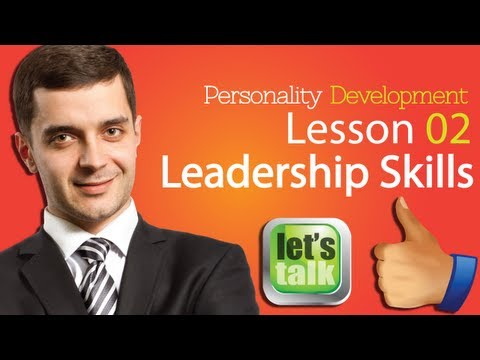 Personality Development Skills Chapter 02 - Leadership Skills