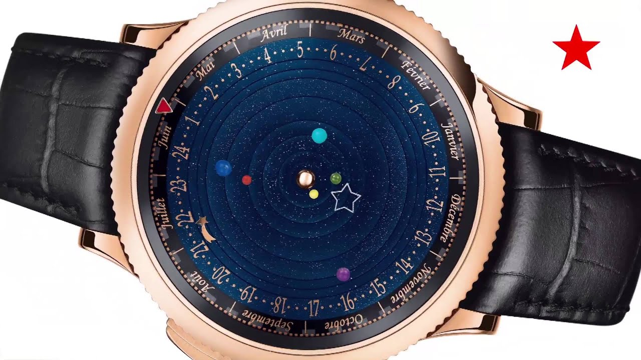 planets rotating wrist watch - photo #4