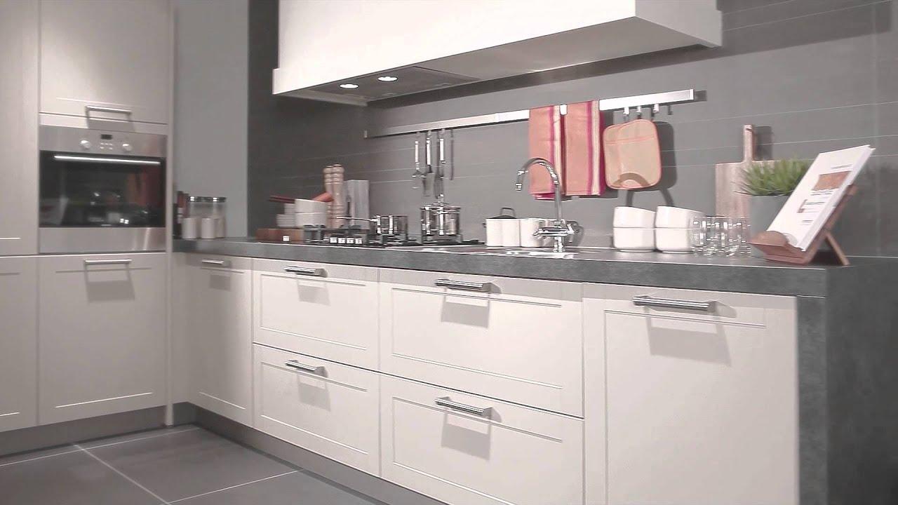 Werkblad Keuken Betonlook : KEUKENMAXX – XX Line keuken met kaderdeuren – YouTube