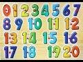 Английский детям Числительные на английском от 1 до 20 English For Kids Learn Numbers 1 20 mp3