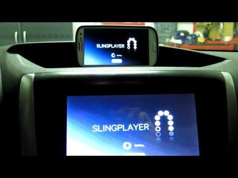 AppRadio2 Running ARLiberator with AllShare Cast Dongle
