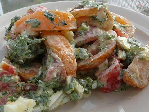 Простой салат на каждый день/Easy Healthy Salad/Салаты