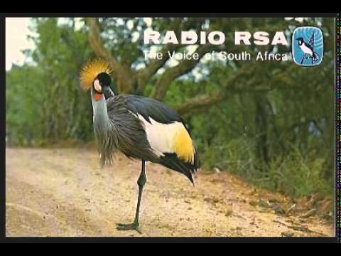 Radio RSA   The Voice of South Africa   Johannesburg   Shortwave Broadcast 1980s