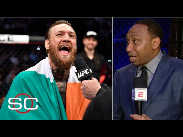 Stephen A.: I got hit more than Conor McGregor in the last week than he did | SportsCenter thumbnail