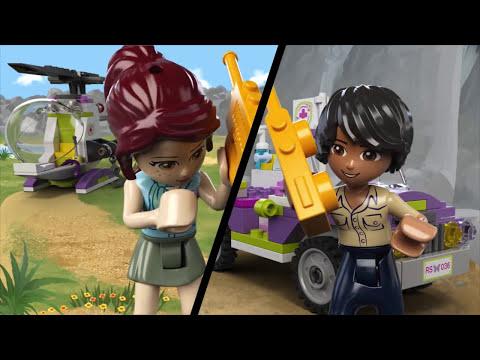 LEGO® Friends - Jungle Bridge Rescue #41036 Product Animation