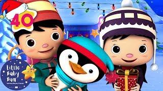 Jingle Bells | Christmas Songs for Kids | +More Nursery Rhymes and Kids Songs | Little Baby Bum