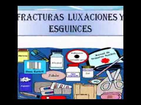 Fracturas luxaciones y esguinces