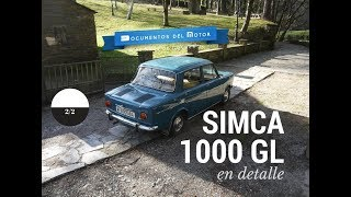 Simca 1000 (2/2)- El GL en detalle