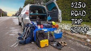 Super Cheap Road Trip Setup! | Budget Travel