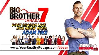#BBCAN7 POST SEASON LIVE WITH: Adam Pike