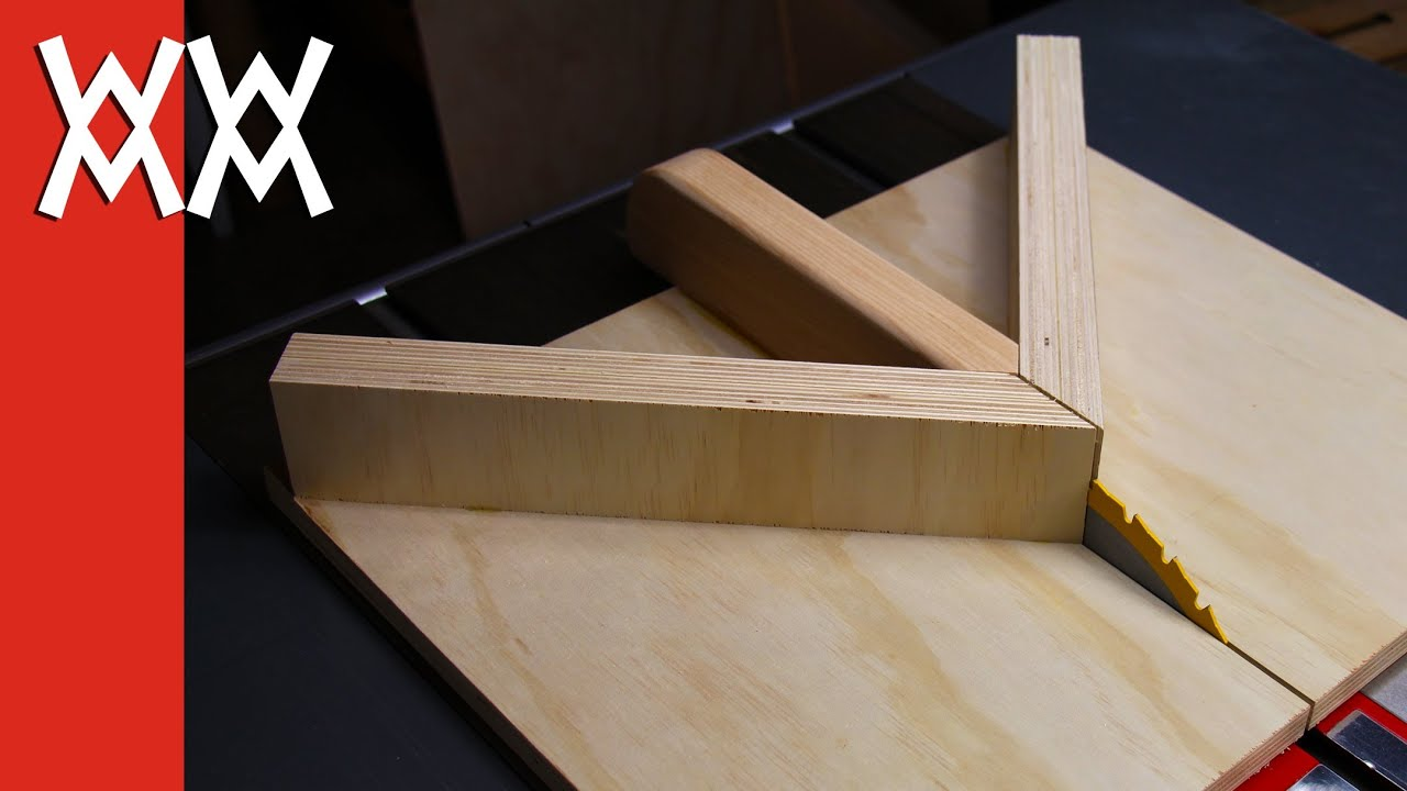 Make A Miter Sled For Your Table Saw Improved Version