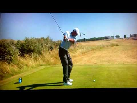 Tiger woods 2013 open 5th tee