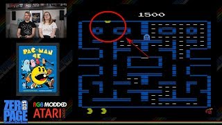 Pac-Man 4K Atari 2600 Bug - Goes Through the Walls!